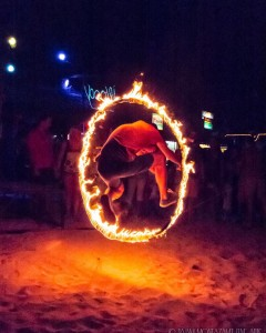 Fire shows on the beaches of Koh phi phi beachhellip